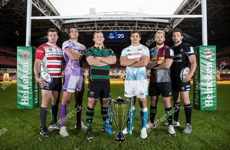 Editorial image of 2019/2020 Heineken Champions Cup & European Rugby Challenge Cup Launch, Principality Stadium, Cardiff Wales  - 06 Nov 2019
