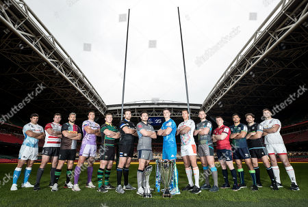 Editorial picture of 2019/2020 Heineken Champions Cup & European Rugby Challenge Cup Launch, Principality Stadium, Cardiff Wales  - 06 Nov 2019
