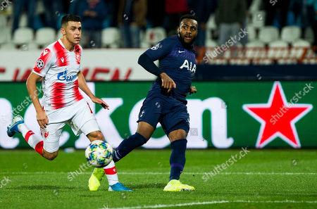 Editorial photo of Red Star Belgrade v Tottenham Hotspur, UEFA Champions League, Group B, Football, Rajko Mitic Stadium, Serbia - 06 Nov 2019