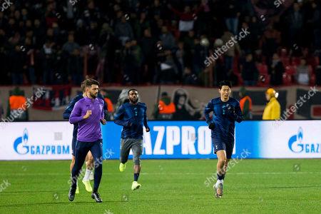 Editorial picture of Red Star Belgrade v Tottenham Hotspur, UEFA Champions League, Group B, Football, Rajko Mitic Stadium, Serbia - 06 Nov 2019