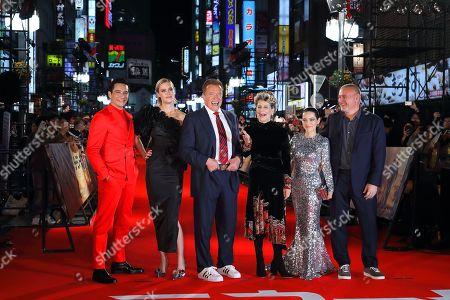 Editorial photo of 'Terminator: Dark Fate' film premiere, Tokyo, Japan - 06 Nov 2019