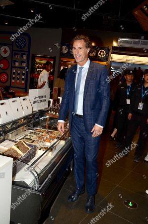 Editorial photo of Fabio Galante visit to China - 05 Nov 2019