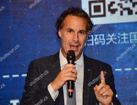 Editorial image of Fabio Galante visit to China - 05 Nov 2019