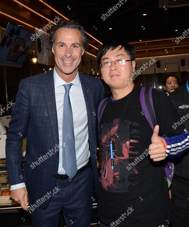 Stock Picture of Fabio Galante of Inter Milan meets fans in Shanghai