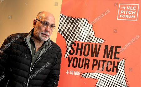 Guillermo Arriaga, scriptwriter of films such as Babel and 21 Grams, poses during the presentation of the first edition of VLC Pitch Forum in Valencia, Spain, 06 November 2019. The VLC Pitch Forum, held from 04 to 11 November 2019, aims to be a gathering of scriptwriters that will be holding various master classes throughout the week.