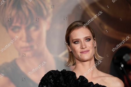 Mackenzie Davis attends the Japanese premiere of 'Terminator: Dark Fate' in Tokyo, Japan, 06 November 2019. The movie will open in theaters across Japan on 08 November 2019.