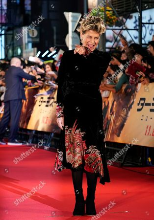Stock Photo of Linda Hamilton poses for photographs during the Japanese premiere of 'Terminator: Dark Fate' in Tokyo, Japan, 06 November 2019. The movie will open in theaters across Japan on 08 November 2019.