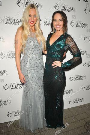 Hayley Palmer and Hayley Sparkes
