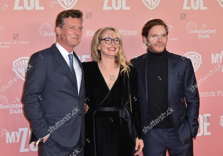 Stock Picture of Malte Grunert, Julie Delpy and Daniel Bruhl