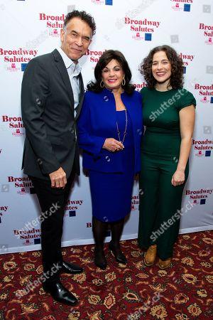 Brian Stokes Mitchell, Charlotte St. Martin and Sarah Bockel