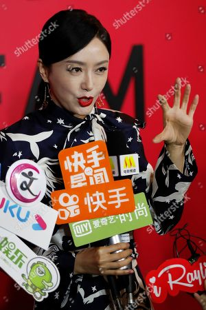 Editorial photo of Valentino, Beijing, China - 06 Nov 2019
