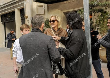 Editorial picture of Sharon Stone out and about, Madrid, Spain - 06 Nov 2019