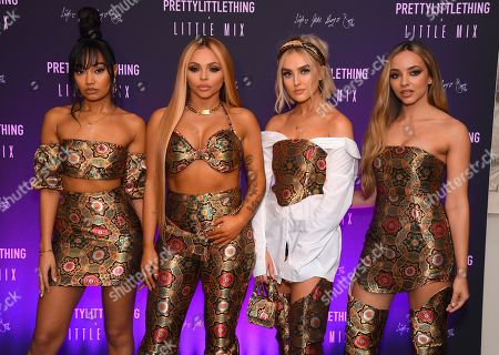 Editorial image of PrettyLittleThing Little Mix collection launch party, London, UK - 06 Nov 2019