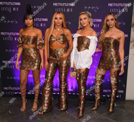 Editorial picture of PrettyLittleThing Little Mix collection launch party, London, UK - 06 Nov 2019