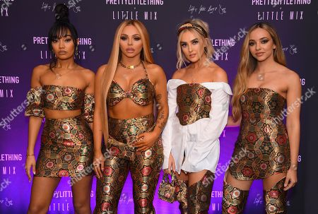 Stock Image of Little Mix- Leigh-Anne Pinnock, Jesy Nelson, Perrie Edwards and Jade Thirlwall