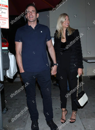Stock Picture of Tarek El Moussa and Heather Rae Young