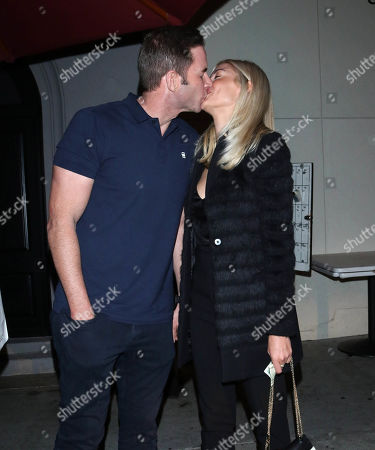 Stock Image of Tarek El Moussa and Heather Rae Young