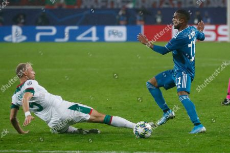 Editorial photo of Russia Soccer Champions League, Moscow, Russian Federation - 06 Nov 2019