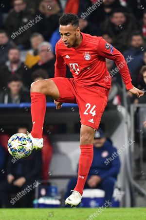 Bayern's Corentin Tolisso during the UEFA Champions League group B soccer match between Bayern Munich and Olympiacos Piraeus at the Allianz Arena in Munich, Germany, 06 November 2019.