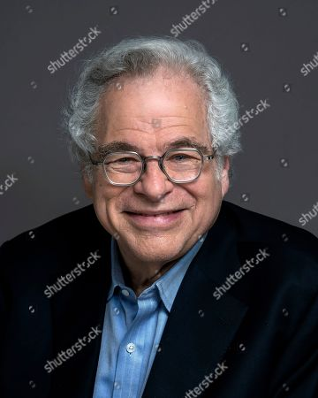 Stock Picture of Violinist Itzhak Perlman poses for a portrait in New York