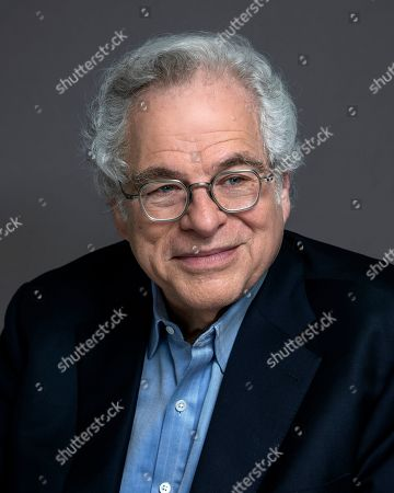 Violinist Itzhak Perlman poses for a portrait in New York