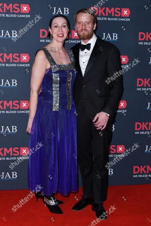 Stock Image of Tina Harf and Stefan Konarske