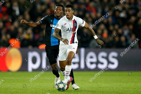 Editorial picture of PSG vs FC Brugge, Paris, France - 06 Nov 2019