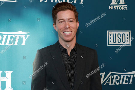 "Stock Image of Shaun White attends Variety's third annual ""Salute to Service"" celebration at Cipriani 25 Broadway, in New York"