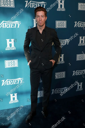 "Stock Photo of Shaun White attends Variety's third annual ""Salute to Service"" celebration at Cipriani 25 Broadway, in New York"