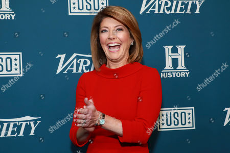 """Norah O'Donnell attends Variety's third annual """"Salute to Service"""" celebration at Cipriani 25 Broadway, in New York"""