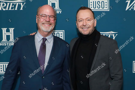 Editorial image of Variety's Third Annual Salute to Service, New York, USA - 06 Nov 2019