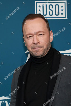 "Donnie Wahlberg attends Variety's third annual ""Salute to Service"" celebration at Cipriani 25 Broadway, in New York"