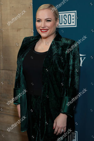 """Meghan McCain attends Variety's third annual """"Salute to Service"""" celebration at Cipriani 25 Broadway, in New York"""