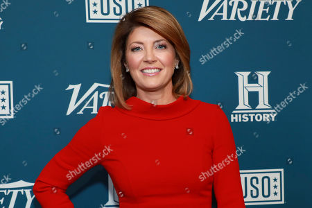 """CBS News' Norah O'Donnell attends Variety's third annual """"Salute to Service"""" celebration at Cipriani 25 Broadway, in New York"""