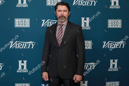 "Lou Diamond Phillips attends Variety's third annual ""Salute to Service"" celebration at Cipriani 25 Broadway, in New York"