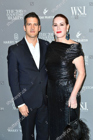 Stock Picture of Molly Ringwald and Panio Gianopoulos