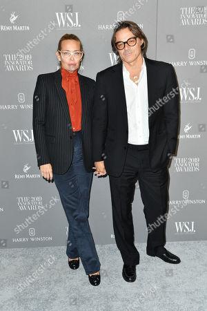 Stock Image of Mario Sorrenti and Mary Sorrenti