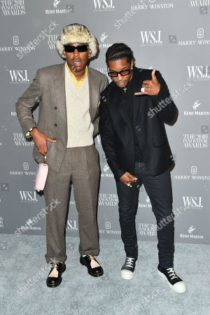 Stock Picture of Tyler the Creator and ASAP Rocky