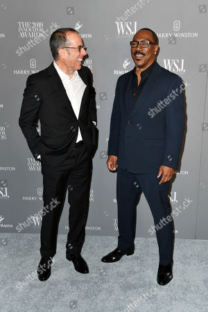 Stock Picture of Jerry Seinfeld and Eddie Murphy