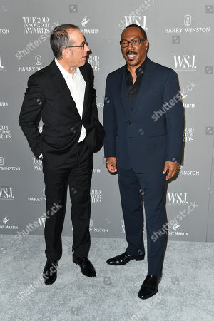 Stock Image of Jerry Seinfeld and Eddie Murphy