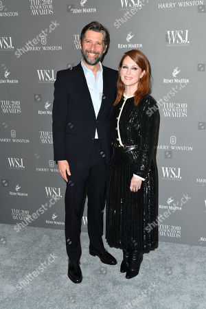 Stock Photo of Julianne Moore and Bart Freundlich