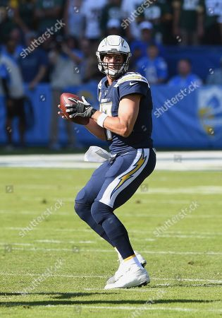 Editorial picture of Packers Chargers Football, Carson, USA - 03 Nov 2019