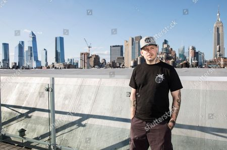 Puerto Rican rapper, writer, and filmmaker Rene Perez, know professionally as Residente, poses for a portrait during the Residente portrait session, in New York