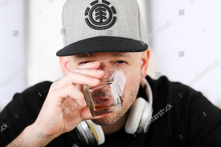 Editorial picture of Residente Portrait Session, New York, USA - 12 Jul 2019