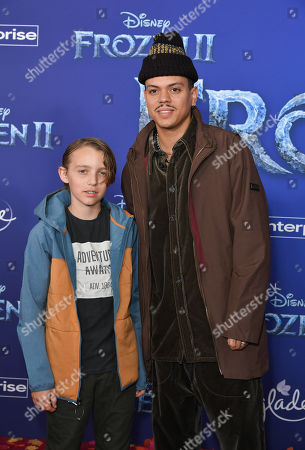 Bronx Wentz and Evan Ross