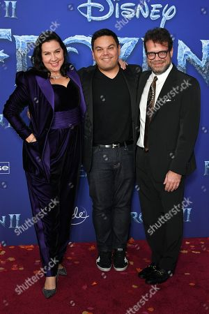 Editorial photo of 'Frozen II' film premiere, Arrivals, Dolby Theatre, Los Angeles, USA - 07 Nov 2019