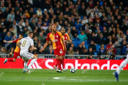 Editorial image of Real Madrid v Galatasaray, UEFA Champions League, Group A, Football, Santiago Bernabeu, Madrid, Spain - 06 Nov 2019