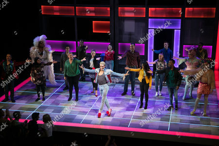 Layton Williams (Jamie) during the curtain call