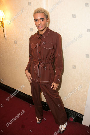 Layton Williams (Jamie New) backstage
