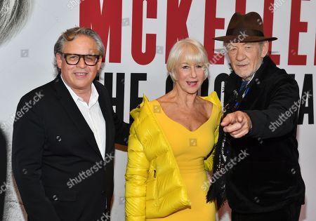 Director Bill Condon, Helen Mirren and Sir Ian McKellen